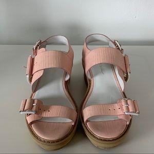 3.1 Philip Lim 'Mallory' Platform Sandal in rose